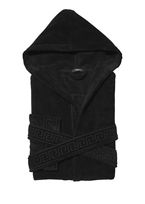 Versace Men Men Medusa Hooded Bathrobe