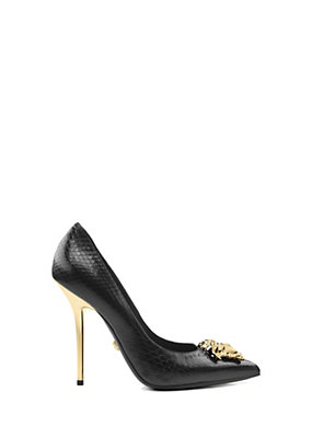 Versace Women Palazzo python pump - 11 cm
