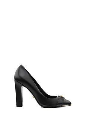 Versace Women Vanitas leather pumps